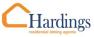 Hardings Lettings, Amesbury logo
