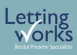 Letting Works, Lytham St Annes branch logo