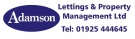 Adamson Lettings & Property Management Ltd , Warrington branch logo