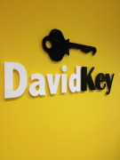 David Key, London branch logo