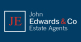 John Edwards Estate agents, Worthing logo