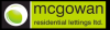 Mcgowan Lettings, Bury logo