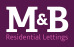 M&B Lettings, Plymouth logo