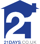 21 days.co.uk, Glasgow branch logo
