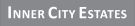 Inner City Estates, London branch logo