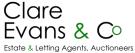 Clare Evans & Co, Rhayader logo