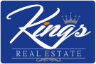 Kings Real Estates, Leicester branch logo