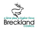 Breckland Council, Dereham branch logo