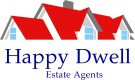 Happy Dwell Estate Agents, Northwood branch logo
