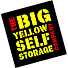 Big Yellow Self Storage Co Ltd, Big Yellow Camberley branch logo