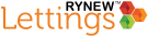 Rynew Lettings, Ilford logo