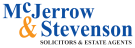 MCJERROW & STEVENSON, Lockerbie branch logo