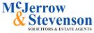 MCJERROW & STEVENSON, Lockerbie branch logo