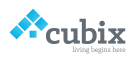 Cubix Estate Agents, London branch logo