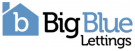 Big Blue Lettings, Leeds logo