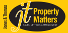 JT Property Matters, Treorchy logo