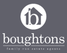 Boughtons Family Run Estate Agents, Brackley logo
