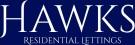 Hawks Residential Lettings, Milton Keynes logo