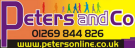 Peters and Co, Llanelli branch logo