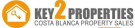 Key 2 Properties , Javea logo