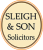 Sleigh & Son, Denton logo