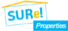 Sure! Properties, Malaga logo