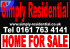Simply Residential & Simply Commercial, Bury logo
