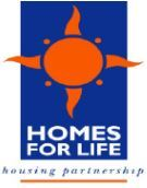 Homes for Life Housing Partnership, Re Sales branch logo