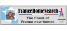 FranceHomeSearch, The Finest of France New Homes Logo