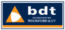 BDT incorporating Woodford & Co., Devonshire branch logo