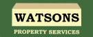Watsons Property Services, Birstall logo