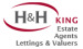 H & H King Ltd, Carlisle - Lettings logo