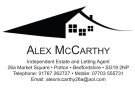 Alex McCarthy Independent Estate and Letting Agents, Potton branch logo