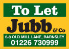 Jubb & Co, Barnsley branch logo