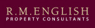 R M English & Son, Pocklington/York logo