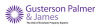 Gusterson Palmer & James , Evesham logo