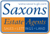 Saxons Estate Agents, Cheddar logo