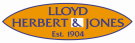 Lloyd, Herbert & Jones, Aberystwyth branch logo