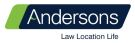 Andersons Solicitors, Kinross branch logo