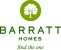 Castlemead development by Barratt Homes logo