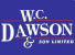 W C Dawson & Son Ltd, Stalybridge logo