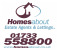 Homesabout Estate Agents, Peterborough logo