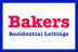 Bakers Residential Lettings, Ingleby Barwick logo