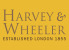Harvey & Wheeler, London logo