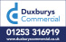 Duxburys Commercial, Blackpool logo