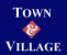 Town & Village, Chorley logo