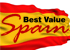 Best Value Spain, Somerset logo