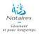 Notaires - SCP DERAMECOURT & de PARCEVAUX, Auxi Le Chateau logo