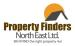 Property Finders North East, Willington logo