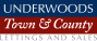 Underwoods Town and County, Wellingborough Lettings logo
